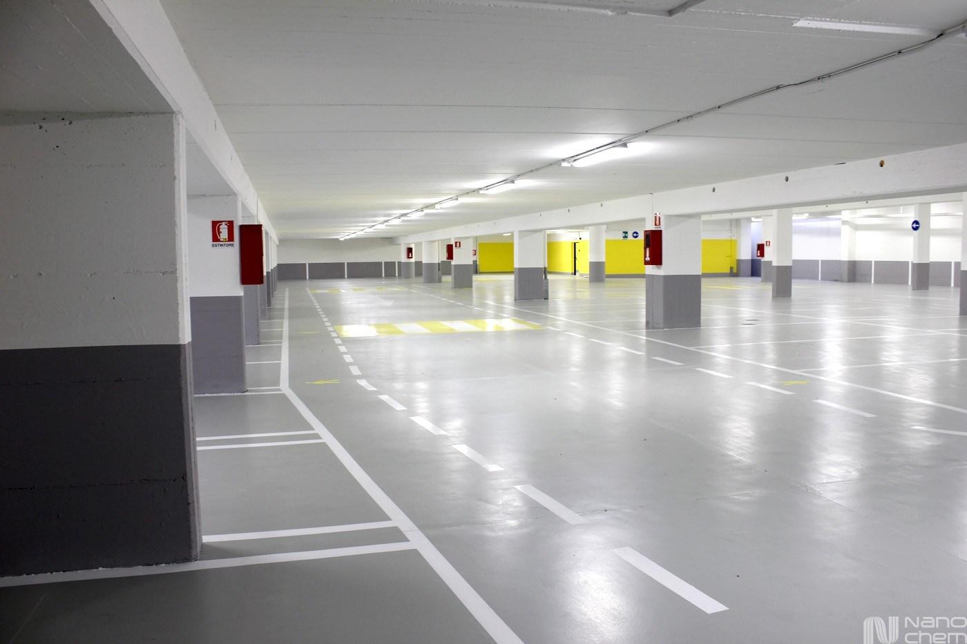 Pardoseala pentru garaje si parcari