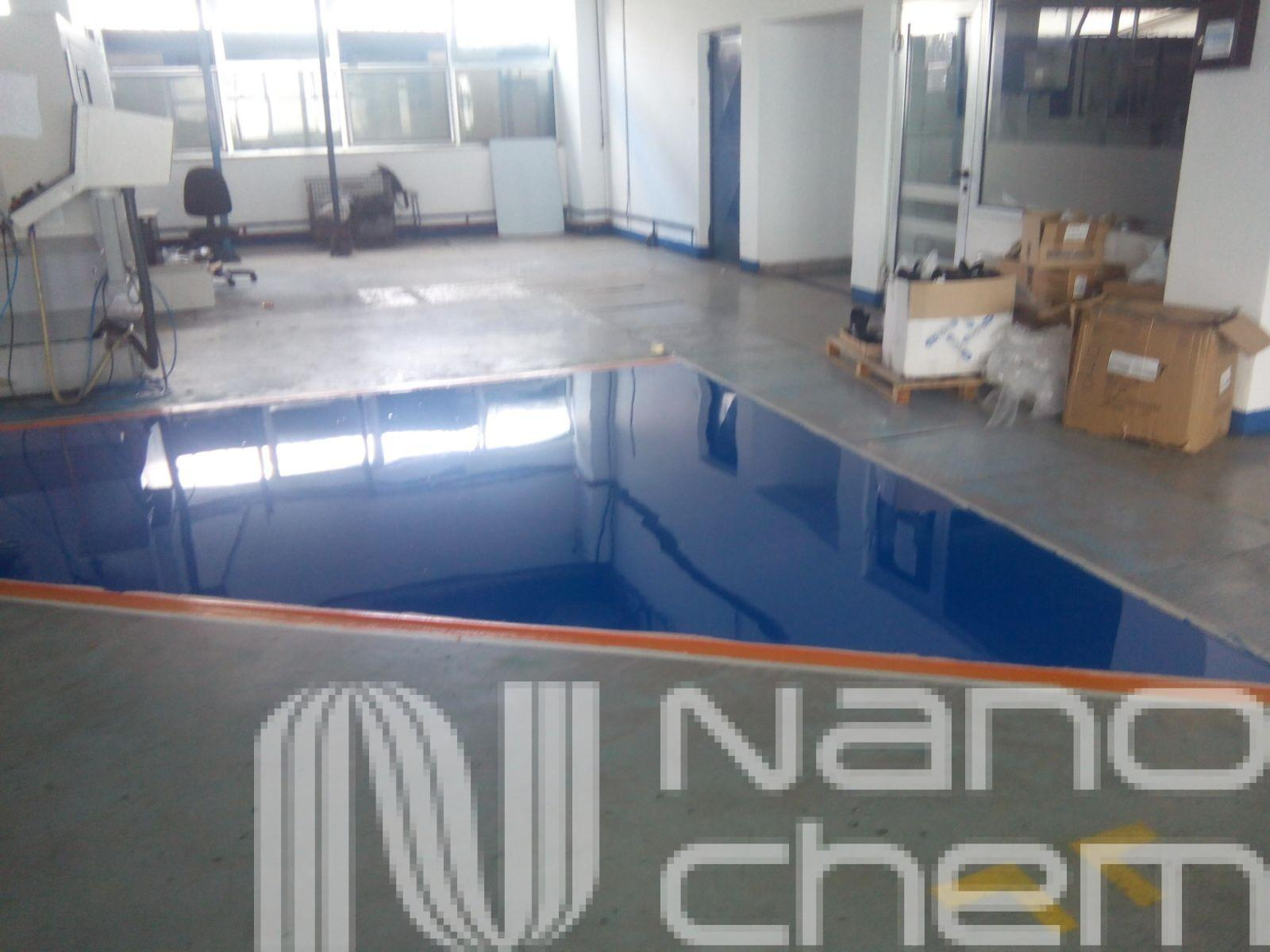 Pardoseala poliuretanica aplicata de Nanochem