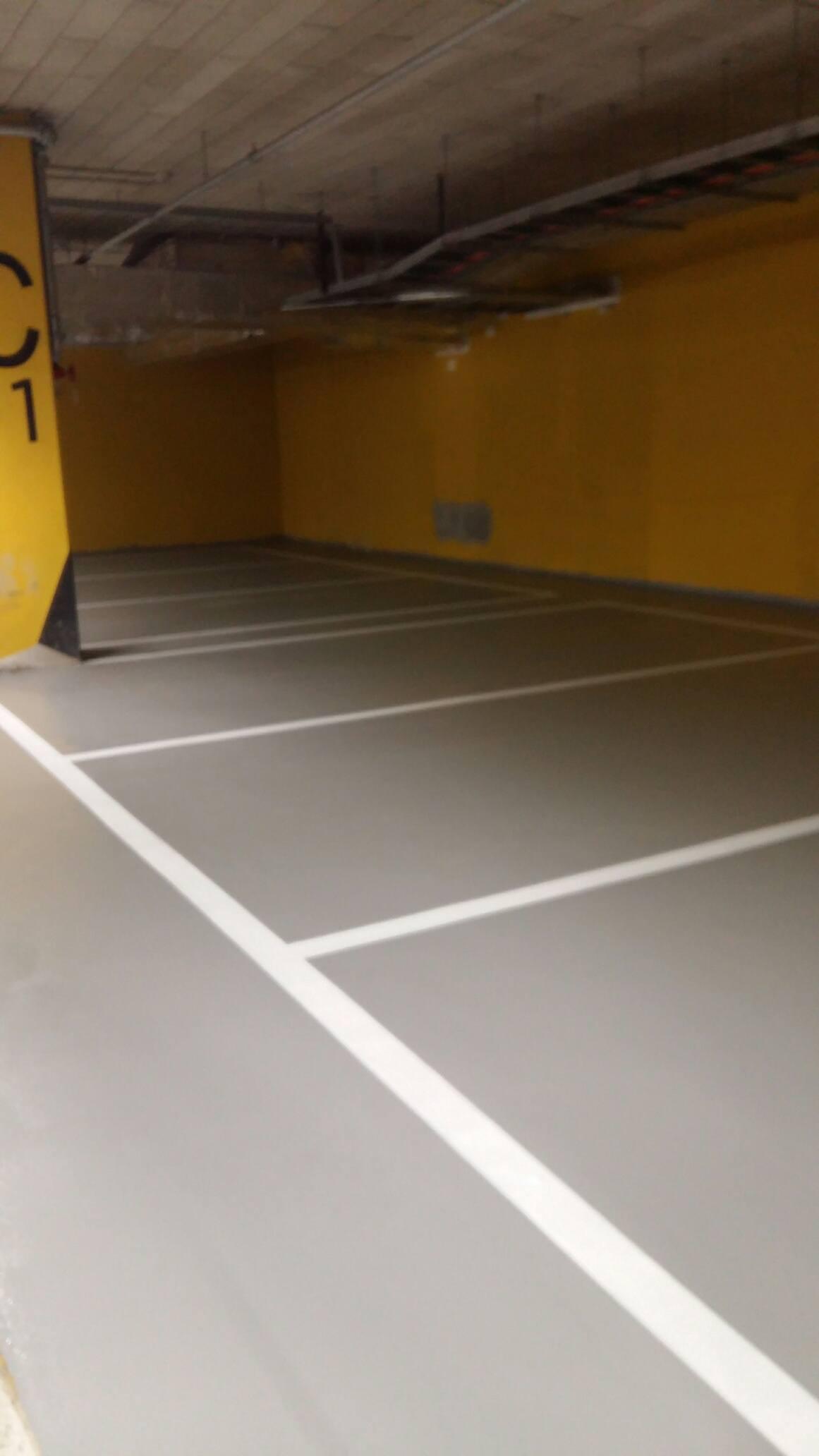 Pardoseala parcare subterana aplicata de Nanochem